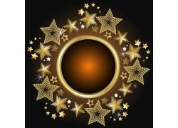 炫光金色星星