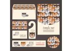 可爱小狐狸公司vi设计
