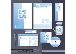 蓝色简洁公司vi设计