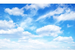 蓝天和白云风景