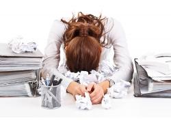 工作压力大的职业女性
