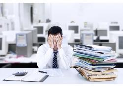 工作压力大的职业男性
