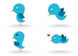 卡通小鸟设计图片
