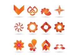 花朵logo设计