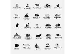 创意水果蔬菜logo设计