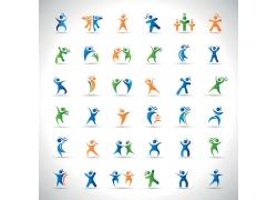 健身标志logo设计