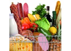 篮子里的蔬菜水果