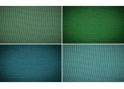 绿色蓝色布纹