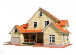 别墅3D效果图