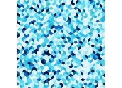 蓝色方块背景底纹
