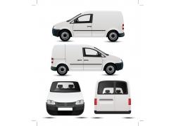 创意VI车身广告模板