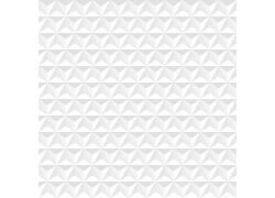 白色立体三角形背景