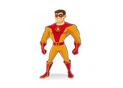 卡通超级英雄图片