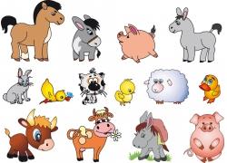创意可爱卡通动物