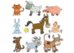 各种创意卡通动物