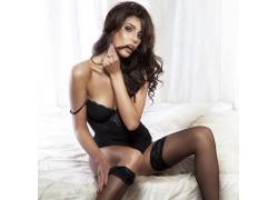 性感丝袜内衣模特美女
